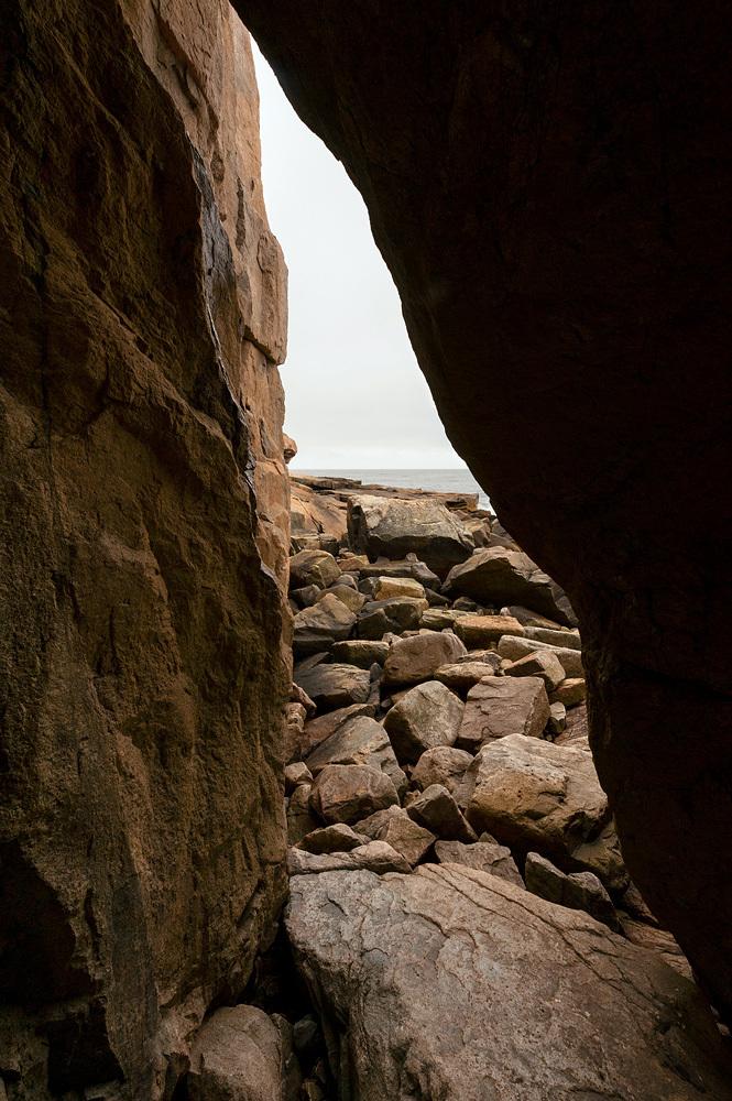 Granite Cave - Schoodic Peninsula