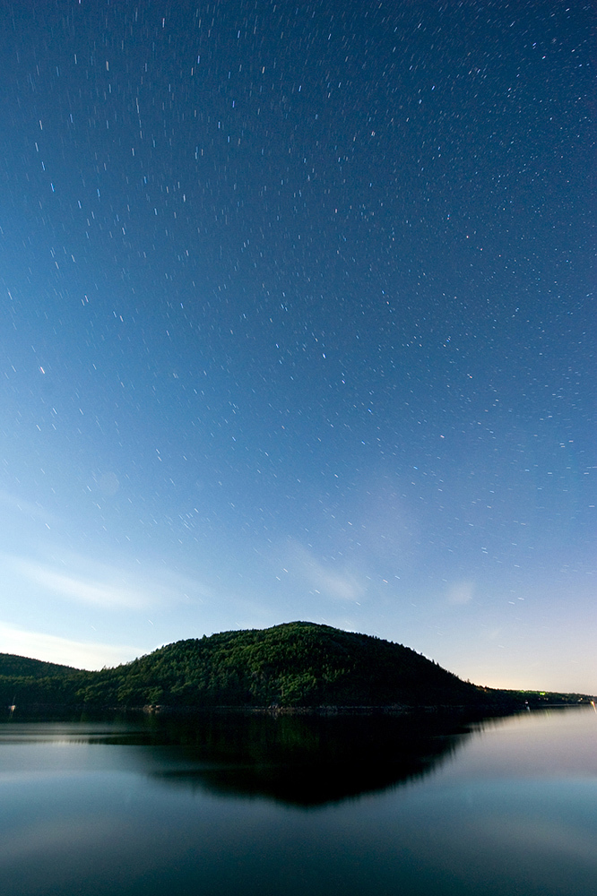 Acadia Mountain After Dark