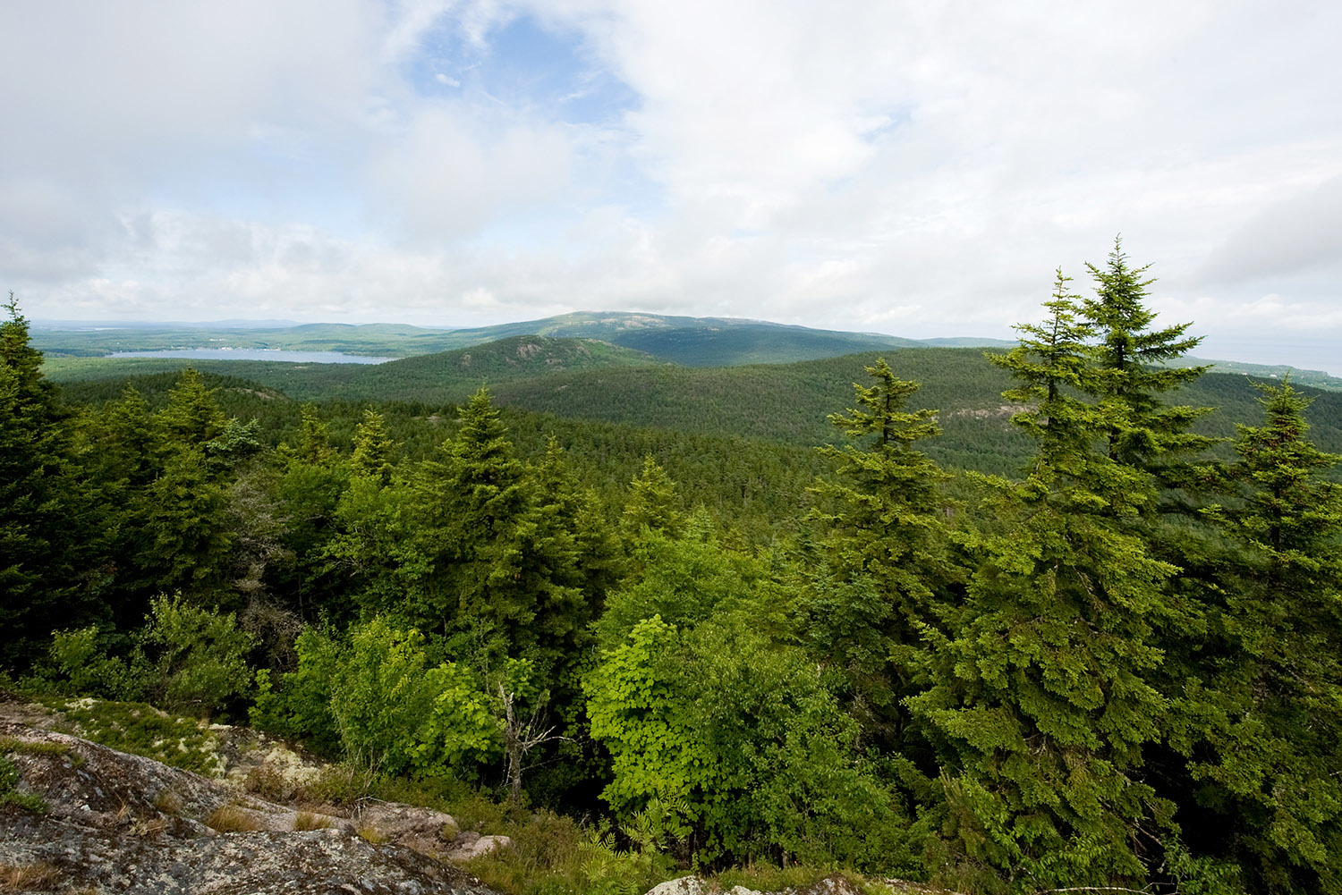 St. Sauveur, Acadia & Parkman Mountain - Beech Mountain Summit