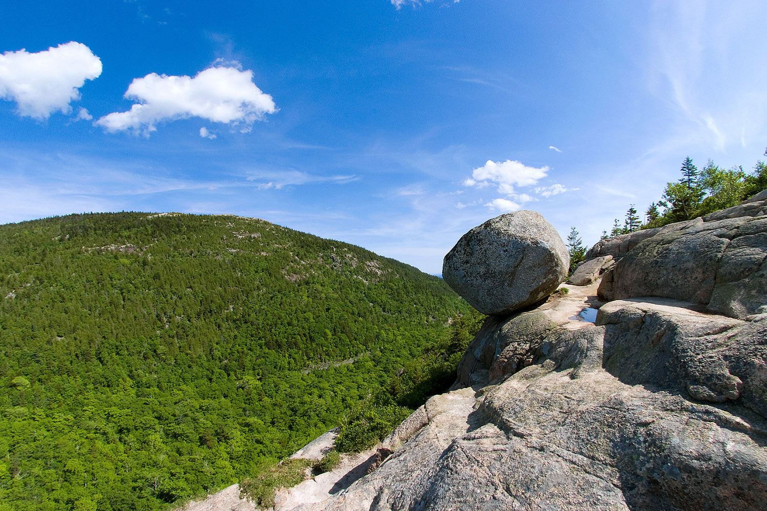 Balancing Rock - South Bubble Summit