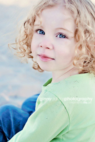 family portraits by ginny adkins on location beach photography