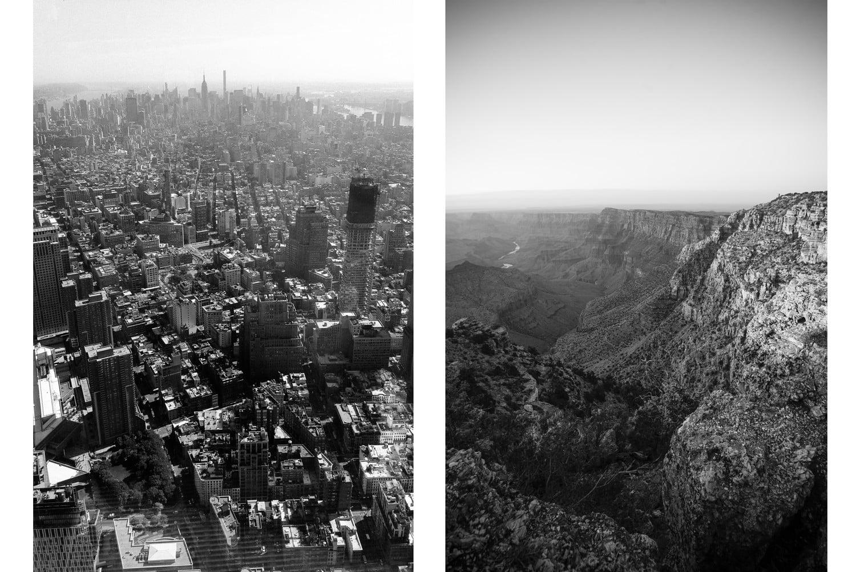 San Francisco, California / Grand Canyon