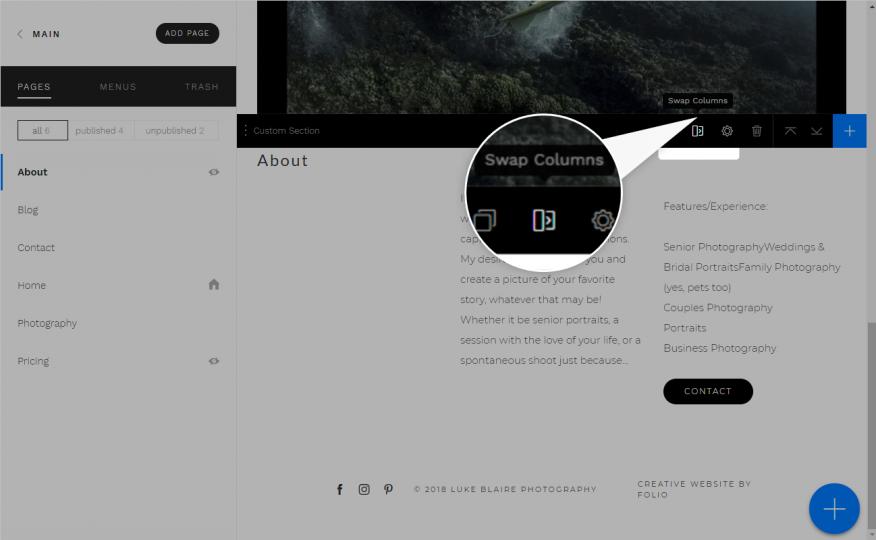 FAQ Website Customization & Details   Folio Websites