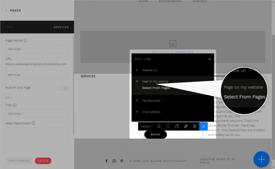 FAQ Website Customization & Details | Folio Websites